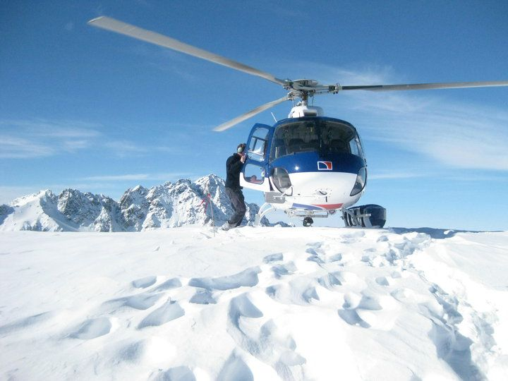 Guest Photo Mt Cook Helicopter Line Mount Cook