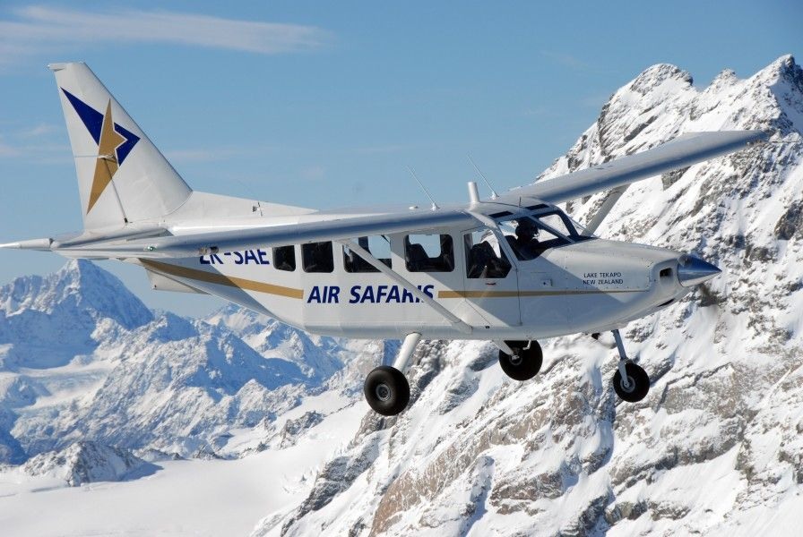Airvan Tasman Glacier