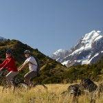 Alps to Ocean Cycleway Aoraki Mt Cook