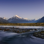 Mount Cook at Twilight