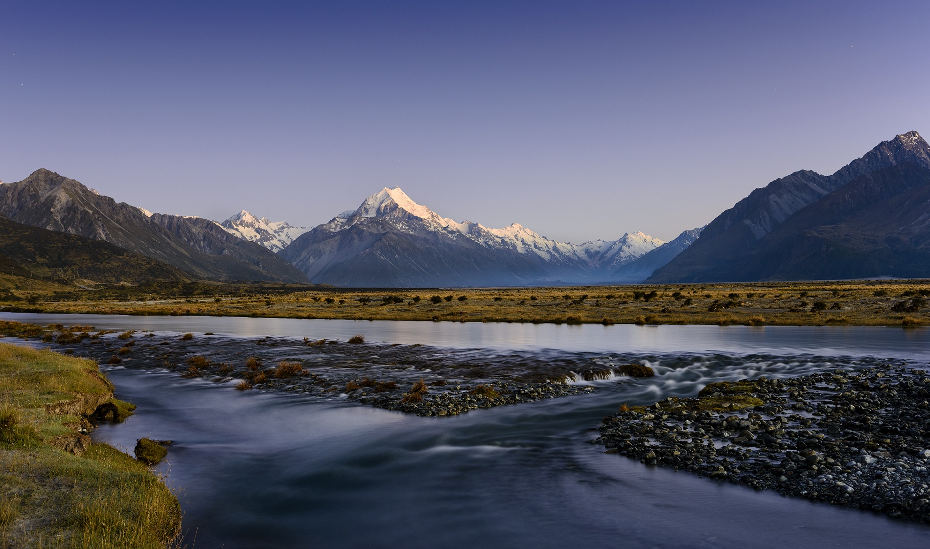 The Gateway to Aoraki Mount Cook