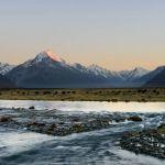 Tasman River and Aoraki