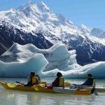 Mount Cook Glacier Sea Kayaking