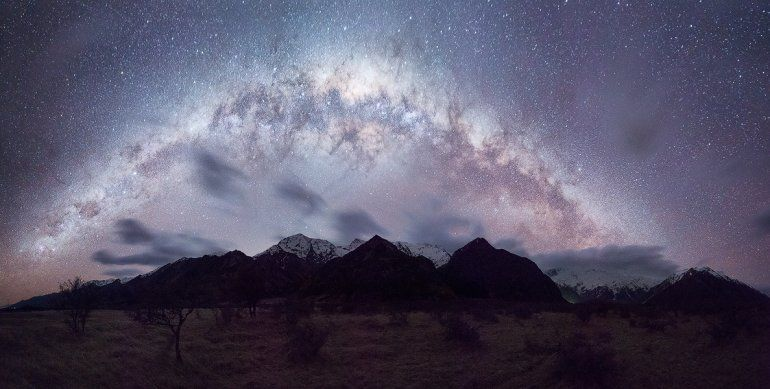 Mount Cook Milkyway David Diehm