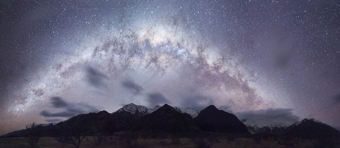 Mount Cook Milkyway by David Diehm