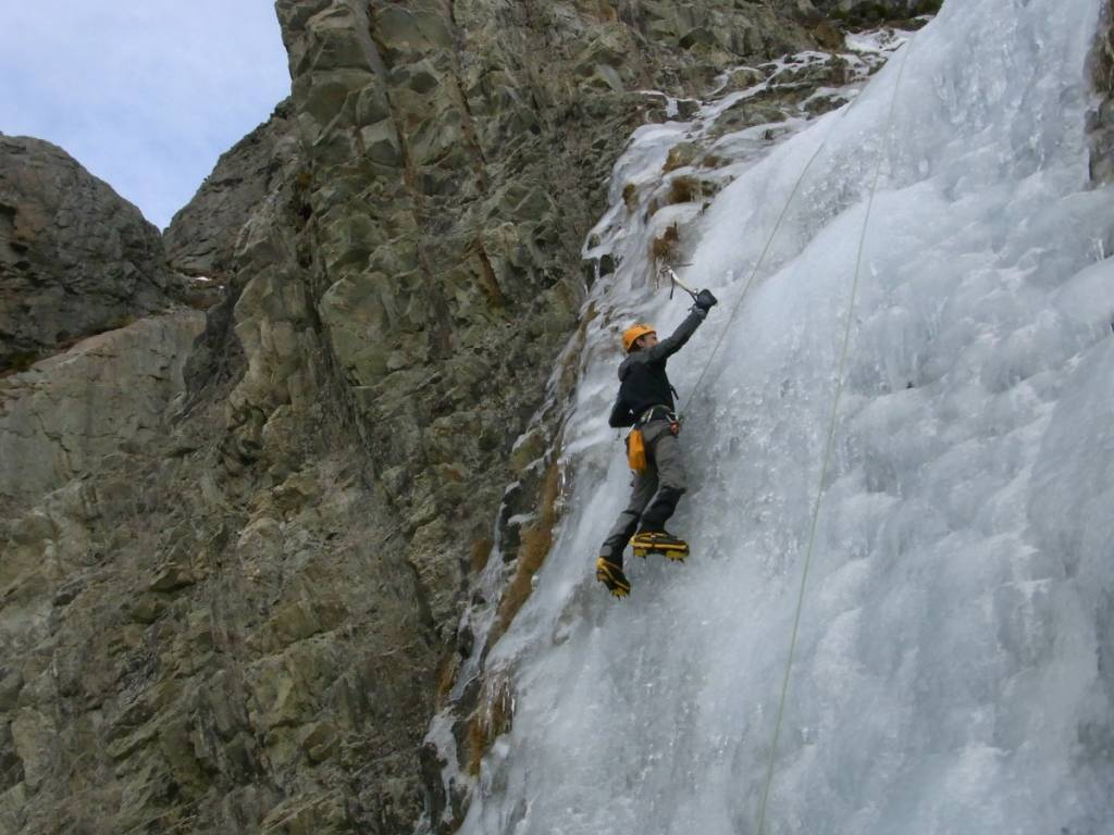 Ice Climbing Mt Cook New Zealand