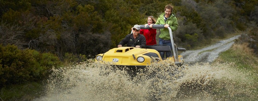 4WD Argo Tours Mt Cook National Park