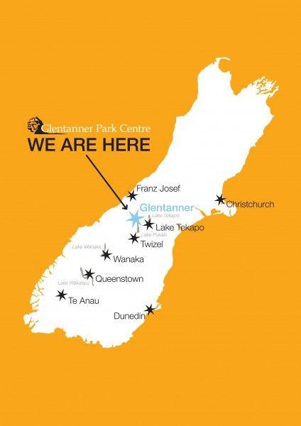 Glentanner Park Location Mount Cook South Island New Zealand