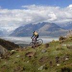 Mt Biking Cycling Glentanner Station Mt Cook